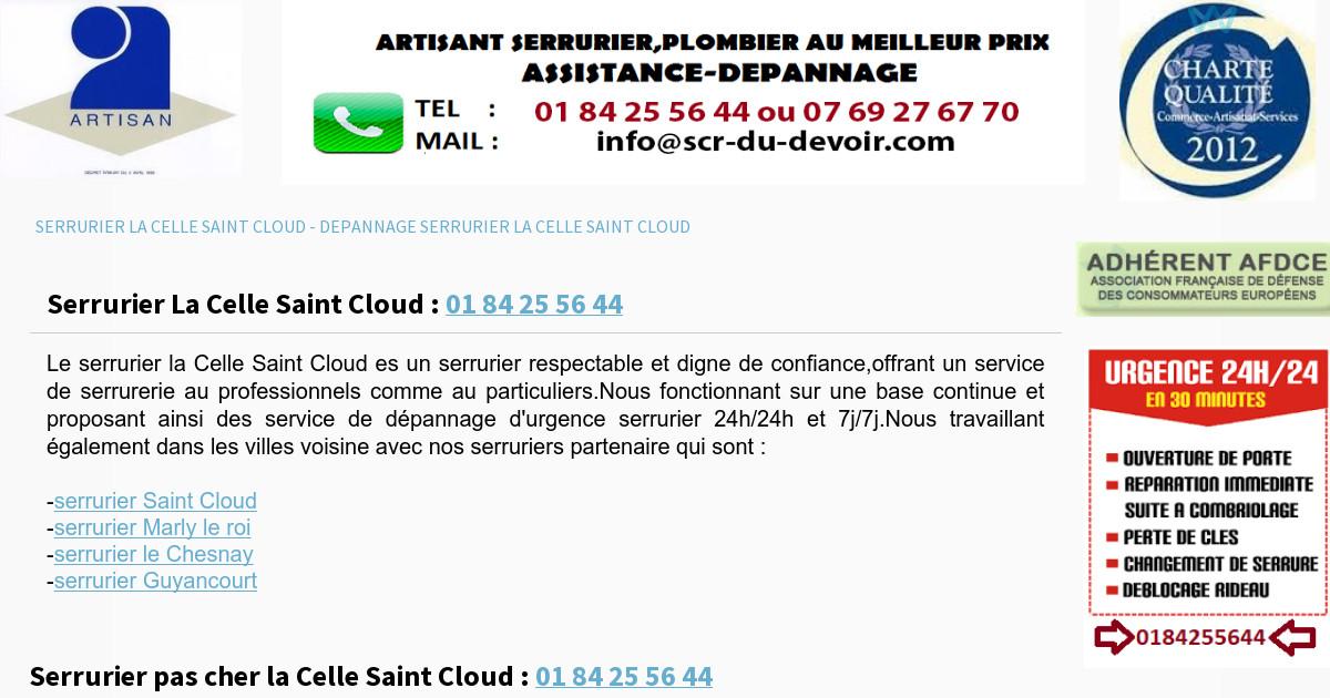 serrurier la celle saint cloud With serrurier la celle saint cloud